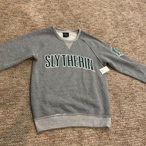 Harry Potter Slytherin sweatshirt Size S NWT